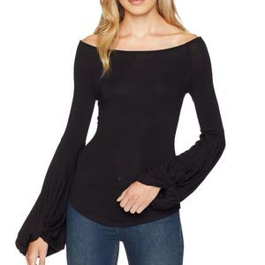 Free People To The Tropics Twisted Long Sleeve Top
